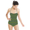 Triangles Wave (Swimsuit)