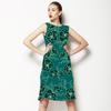 Emerald Floral (Dress)