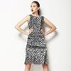 Black and White Line Work (Dress)