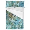 Abstract Flower Pattern Scarf (Bed)