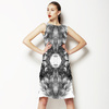 Feather Texture Print (Dress)