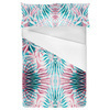 Abstract Tropical Pineapple Pattern (Bed)