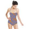 Orange & Blue (Swimsuit)