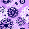 Abstract Floral Pattern (Original)