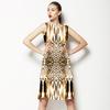 Leopard Skin Pattern,abstract. (Dress)
