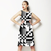 Geometric Pattern in Different Shapes (Dress)