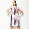 Paint Brush Stripes PB028 (Dress)