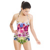 Mirrored Flowers (Swimsuit)