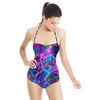 Purple Electric Waves (Swimsuit)