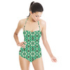 Flora29A Forties Floral (Swimsuit)