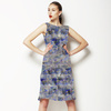 Seamless Irregular Geometric Abstrac Textile (Dress)