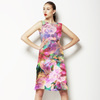 M102 Tropical Floral Fantasy (Dress)