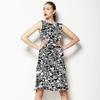 Monochrome Textured Geometric (Dress)