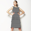Black & White Houndstooth (Dress)