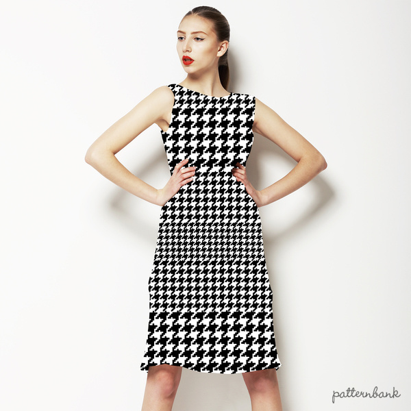 Black & White Houndstooth