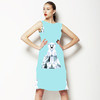 Geo Polar Bears (Dress)