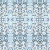 Small Japanese Blue Blossom Pattern (Original)