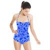 Blue Watercolor Folk (Swimsuit)