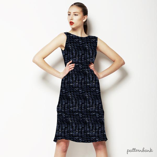 Indigo Knit Texture