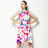 Paint Splatter Watercolour Ink Repeat Print (Dress)