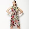 Pretty Mosaic, Subtle Vintage Floral (Dress)