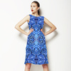 Denim Paisley (Dress)