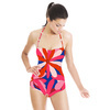 Pink Vector Flowers (Swimsuit)