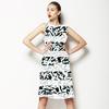 Geometric Textured Stripe (Dress)
