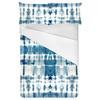 Indigo Blue Shibori Tie-Dye Pattern (Bed)