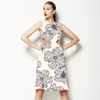 Hand Drawn Hibiscus Floral (Dress)
