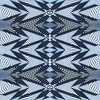 Blue Striped Illusion Active Pattern (Original)