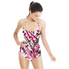 Abstract Lines Pattern (Swimsuit)