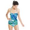 Green and Blue Vivid Tropics (Swimsuit)