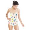 Scribble Marker Blotch Spots Brushstrokes (Swimsuit)