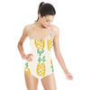 Hand Drawn Marker Pineapple Fruit (Swimsuit)
