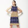 African Linear Stripes Pattern (Dress)