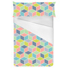 Multi Square Cube Geo (Bed)