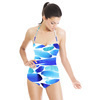Blue Brush Strokes (Swimsuit)