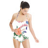 Floral Pattern (Swimsuit)