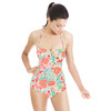 Vector Flowers Acid Colors (Swimsuit)