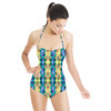 Peacock Pattern (Bpt0853) (Swimsuit)