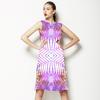 Pastel Palm Skin (Dress)