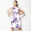 Inky Irises (Dress)
