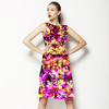Abstract Bright Floral Texture (Dress)