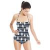 Teddy Bear Stripe (Swimsuit)