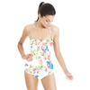 Spring Bird Pattern (Swimsuit)
