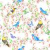Spring Bird Pattern (Original)