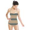 Mandalay Ornate Luxe Stripe (Swimsuit)