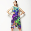 Colorful Geometric Background (Dress)