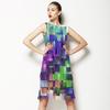 Colorful Geometric Background (Dress)